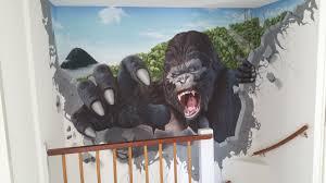 kong wall mural photo king kong wall mural photo