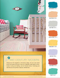 mid century modern color palette home planning ideas 2018