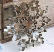 giant snowflake stainless steel cookie cutter collection 9 95
