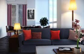 coussin canapé gris quels coussins pour un canapé bleu