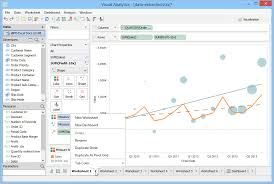 visual analytics visually design discover and explore your data