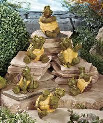 Wacky Garden Ideas Sets Of 6 Wacky Garden Statues Tumbling Turtles Yard Products I