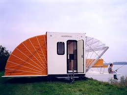 Roll Out Awnings For Campers Incredible De Markies Trailer Folds Out To Triple Its Size With