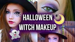 easy halloween witch makeup youtube