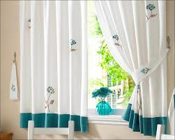 Navy And White Drapes Kitchen Teal And White Curtains Yellow Floral Curtains Walmart