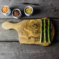 olive wood cheese chopping board by the rustic dish