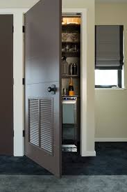 home theater decorations cabinetry and u shaped white solid wood pantry combined with