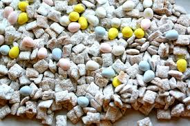 easter puppy chow with robin eggs the report