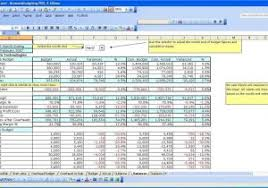financial statement templates for small business and budget