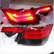 2009 honda accord brake light bulb for honda accord led tail light for bmw style red black color 2008