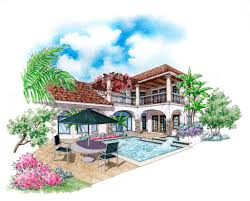 ferretti home plan 6786 sater design u0026 nadeau stout custom homes
