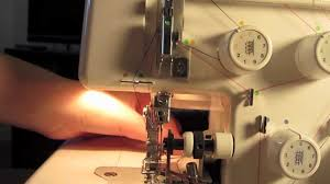 how to thread a serger youtube