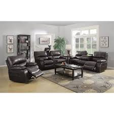 3 piece recliner sofa set coaster willemse 3 piece reclining sofa set with drop down table