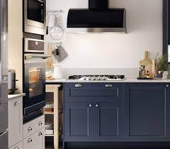 blue bottom and white top kitchen cabinets blue kitchen cabinets axstad modern kitchen series ikea