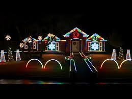 christmas light shows in michigan 2014 johnson family dubstep christmas light show featured on abc s