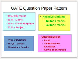 pattern of gate exam mechanical questions papers 2001 2017 gate mechanical 2019