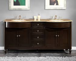 nice decoration bathroom sinks on top of vanity glass top for