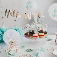 Baby Shower Table Centerpiece Ideas Baby Shower Table Decorations Archives Styleboxe