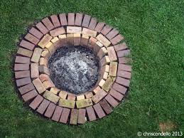 Firepit Bricks Pit Chriscondello