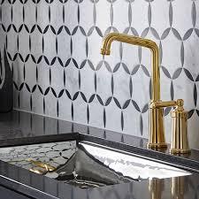 kallista kitchen faucets unlacquered brass press kallista