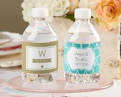 labels for wedding favors personalized wedding water bottle labels wedding party favors