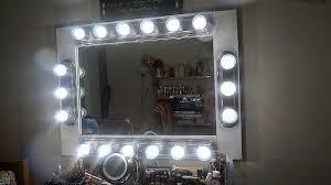 diy makeup vanity mirror with lights under 200 youtube