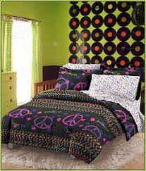 peace sign bedroom retro decorating peace sign decorations flower power teens