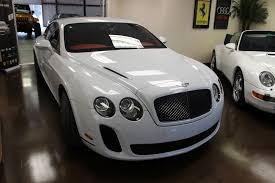 bentley super sport used 2010 bentley continental supersports stock p3260 ultra
