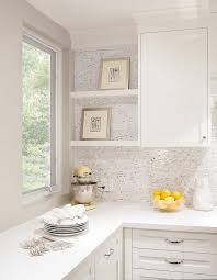 Kitchen Marble Backsplash Tiles With No Grout Transitional Kitchen - No grout tile backsplash