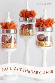fall apothecary jars the real thing with the coake family