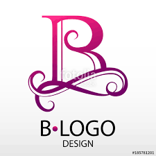 monogram letter b design modern logotype for business vector logo letter b monogram