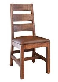 Dining Chairs Rustic Distressed Heritage Collection Dining Chair Curved By Woodland