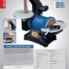 Bench Top Belt Sander Bts700 5 U2033 Belt U0026 Disc Sander Scheppach Direct