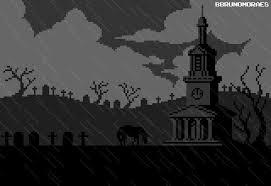 spooky pixel background halloween pixel madness 94 by uszatyarbuz on deviantart