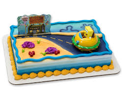 spongebob squarepants cake spongebob squarepants krabby patty decoset cake cakes