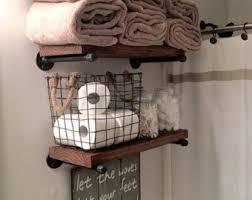 Shelves For Bathroom Bathroom Shelves Etsy