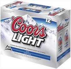 case of coors light coors light 12 pack cans coors beer