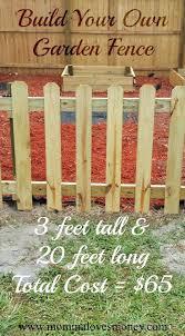 Diy Garden Fence Ideas Small Garden Fence Ideas Satuska Co