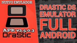 drastic ds emulator full version hack nuevo emulador drastic apk 2 5 0 3a root y no root hack 2017