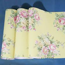 simplelife4u retro peony floral contact paper yellow peel u0026 stick