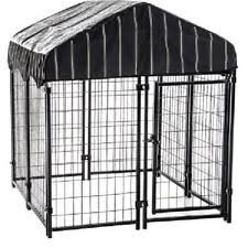 wire cage l shade 4x4x6ft welded wire dog kennel outdoor rainproof cover protection