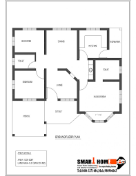 bedroom small house floor plans sqft kerala style plan from smart