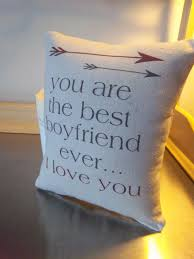 boyfriend gifts pillow for boyfriend cotton throw pillow