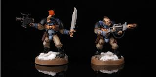 how to paint space wolves scouts warhammer 40k painting tutorial