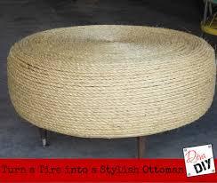 Made Ottoman by Easy Diy Tire Ottoman