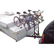 prorac proformance pop up camper towing bike rack 2 bike u0026 4