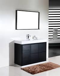 bathrooms design single bathroom vanity modern inch solid wood