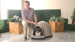 Large Igloo Dog House Petmate Indigo Dog House Product Review Video Youtube