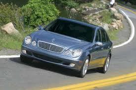 2003 mercedes e class feds probe fuel leaks in about 250 000 mercedes e class cars
