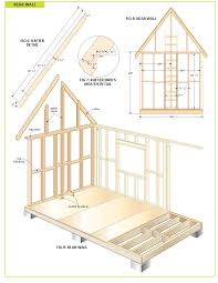 Blueprints For Small Houses by Free Wood Cabin Plans Step By Step Guide To Building A Tiny House
